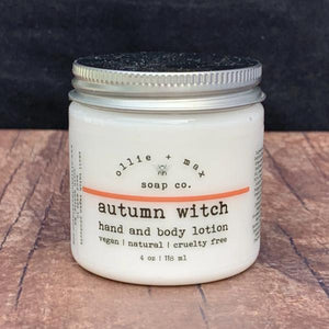Autumn Witch Vegan Lotion