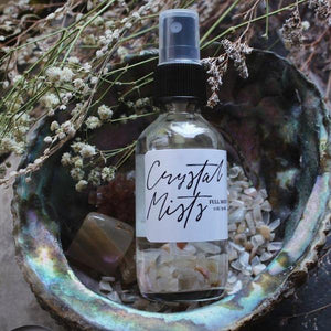 Full Moon Crystal Mist - Moonstone Infused Aroma Mist