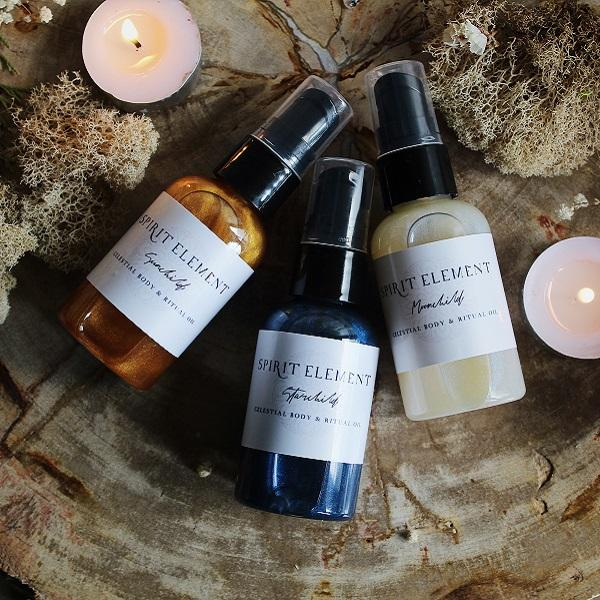 The Celestial Body Oil Trio