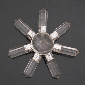 7 Points Clear Quartz Generator