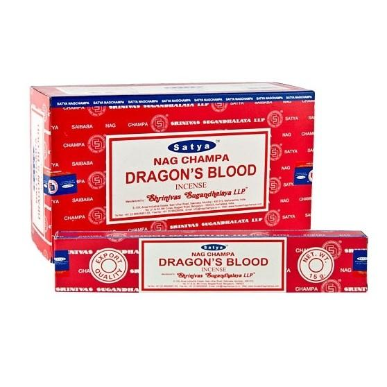 Satya Dragons Blood Incense