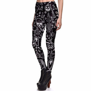 Black spell leggings