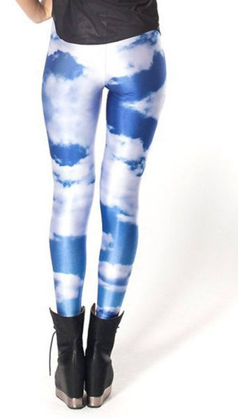 Blue sky leggings