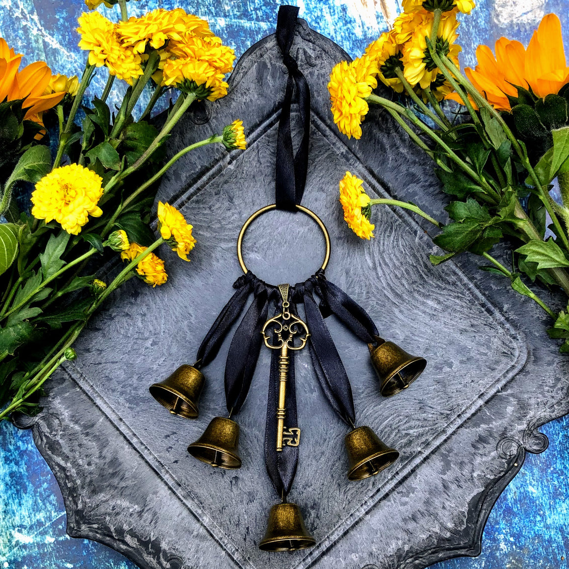 Witches Key Protection Bell