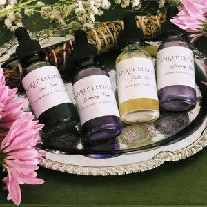Phases of The Moon - Body Oil Sampler Set