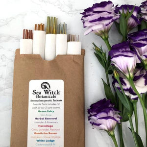 All-Natural Incense: Sea Witch Sample Set - 45 pack