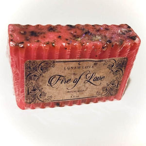 Fire of Love Soap