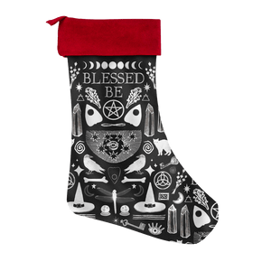 Blessed Be - Pagan Christmas Stocking