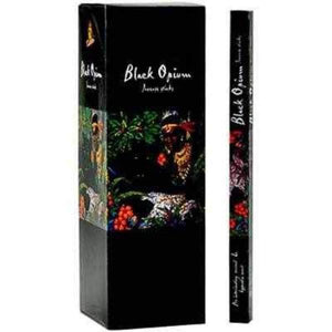 Kamini black opium incense - 8 sticks