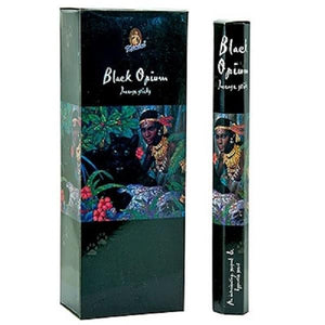 Kamini Black Opium Incense - 20 Sticks