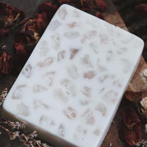Rose Quartz - Crystal Massaging Bath Bar