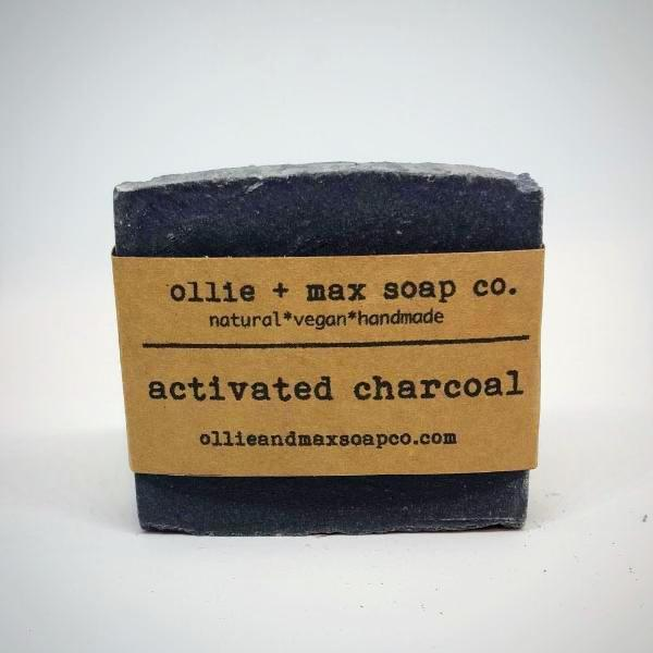 Activated Bamboo Charcoal Cold Processed Soap
