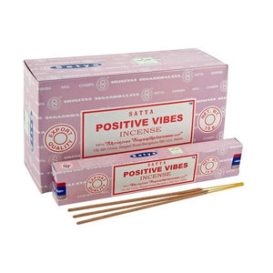 Satya Positive Vibes Incense