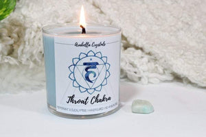 Throat Chakra Candle - 9oz