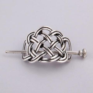 Vintage viking celtic knots hairpin