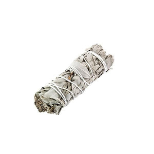 California White Sage Smudge Stick - 4 inches