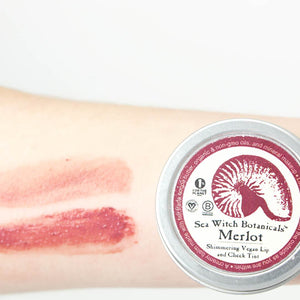 Vegan Lip and Cheek Tint - Merlot
