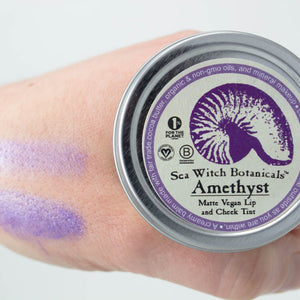 Vegan Lip and Cheek Tint: Minerals - Amethyst