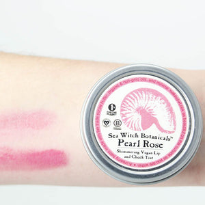Vegan Lip and Cheek Tint - Pearl Rose