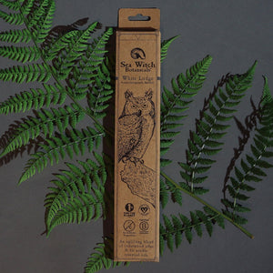 All-Natural Incense: White Lodge - With Cedarwood Atlas & Fir Needle Essential Oil