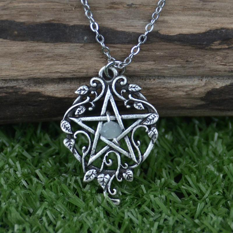 Decorated Pentagram Necklace