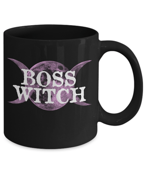 Boss witch mug