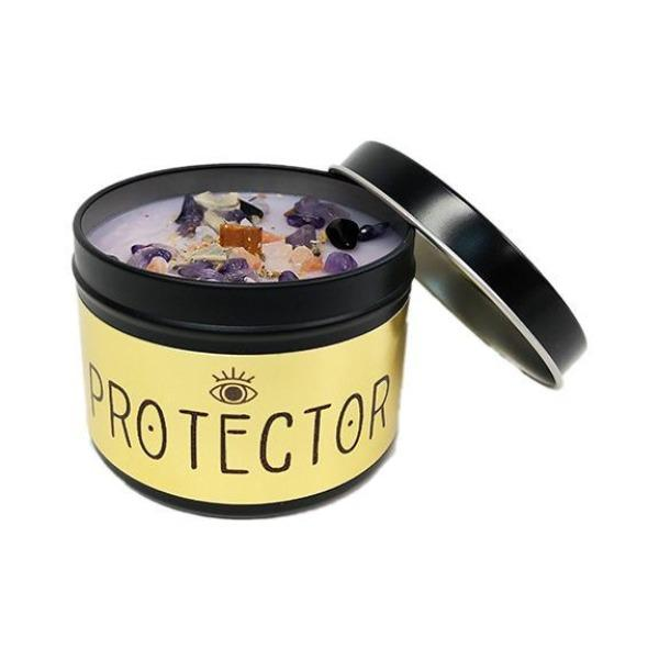 Protector Tin Candle
