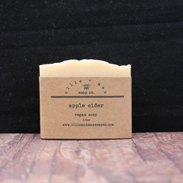Apple Cider Vegan Soap