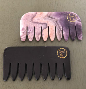 Crystal Energy Comb