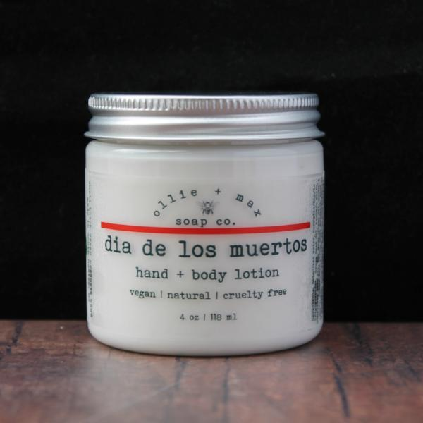 Dia de los muertos (Day of the Dead) Vegan Body Lotion