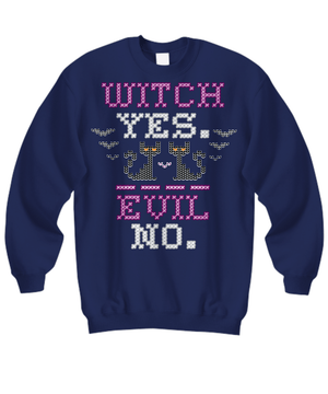 Witch? Yes. Evil? No. long sleeve