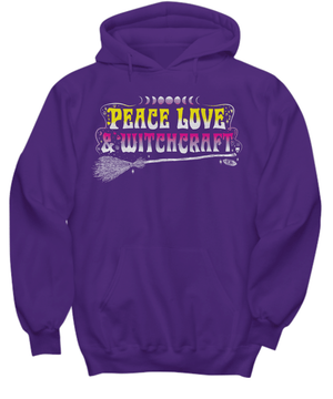 Peace, love & witchcraft long sleeve