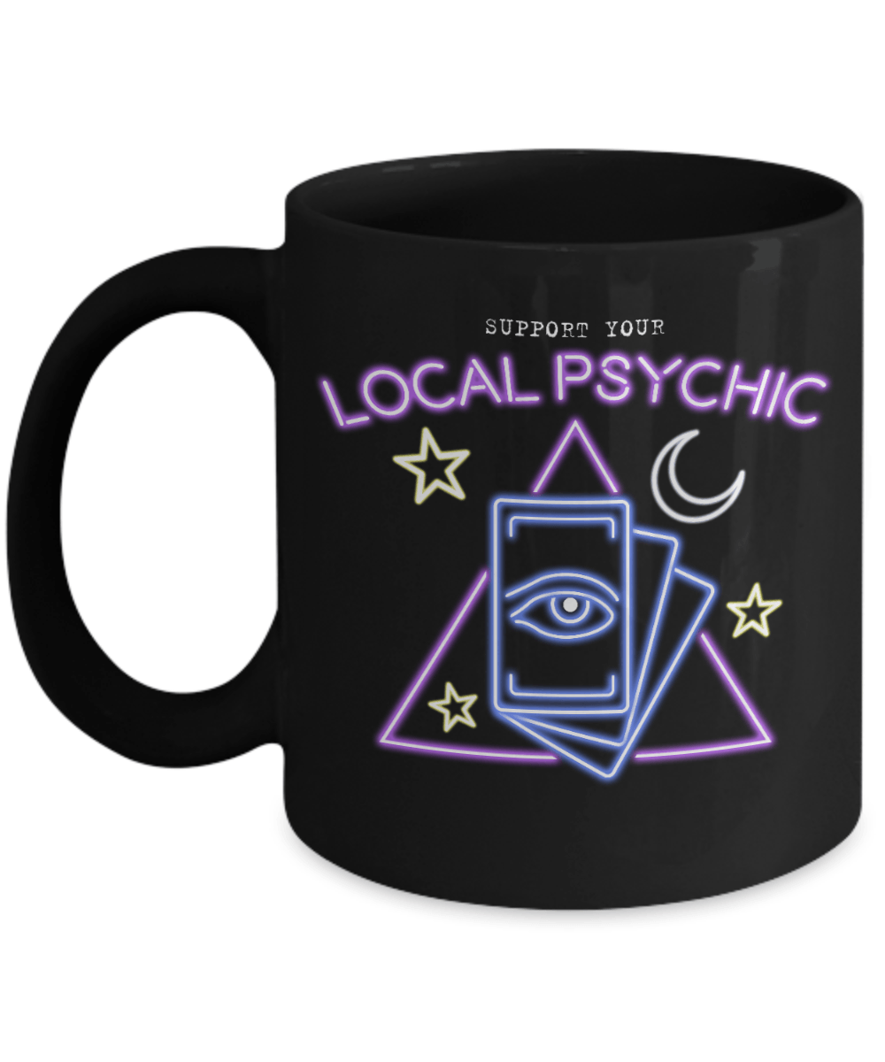 Support Your Local Psychic Mug