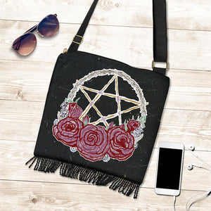 Star Roses - Boho Cross-Body Bag