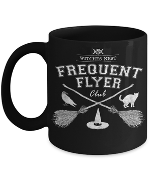 Frequent Flyer mug