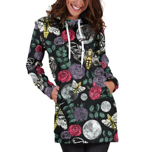 Enchanted Night - Colorful hoodie -dress