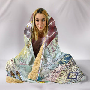 Wanderlust - Hooded Blanket