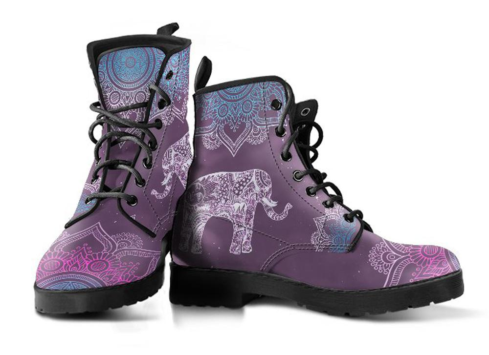 Oriental Elephants - Vegan Boots