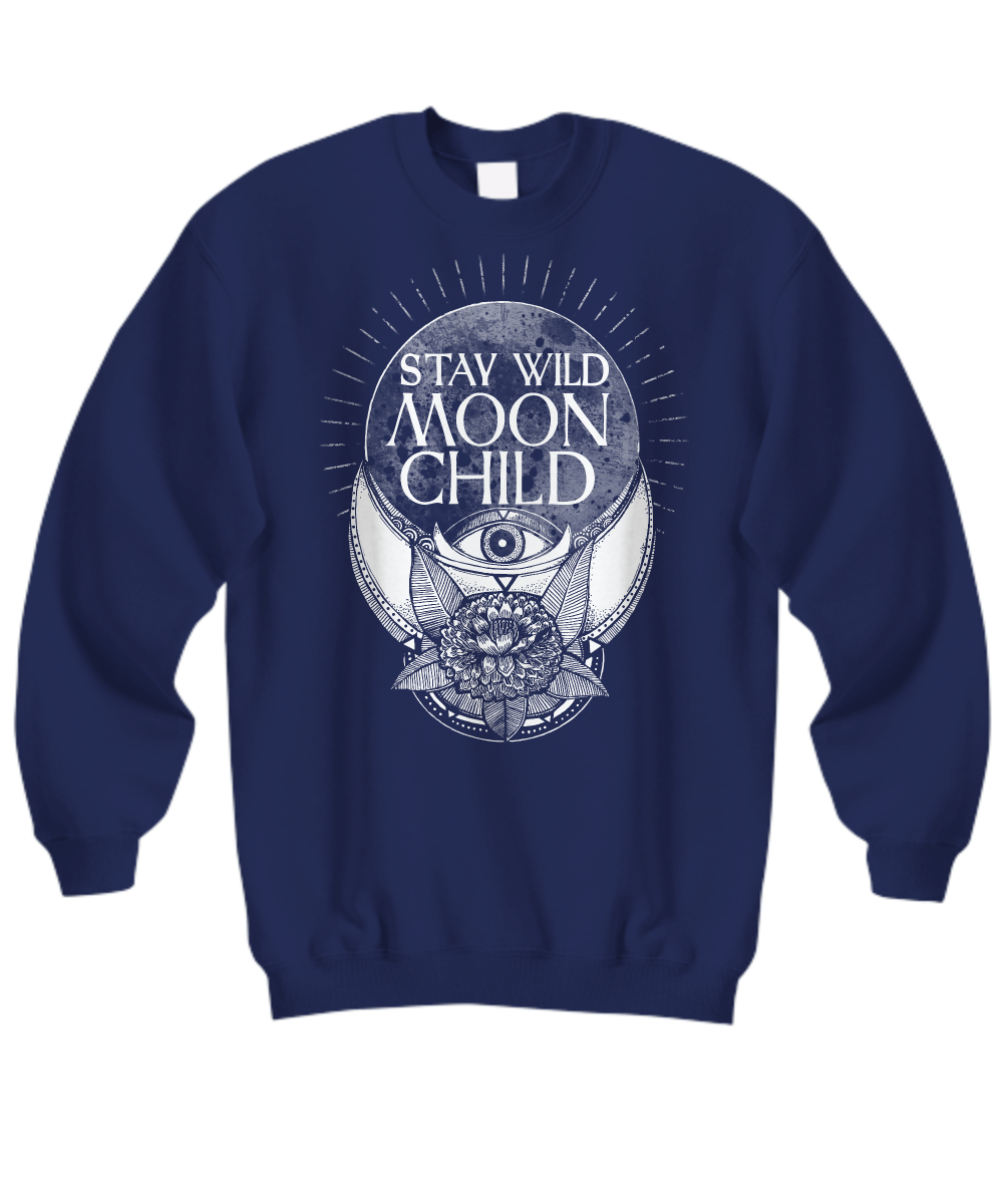 Stay wild moon child long sleeve