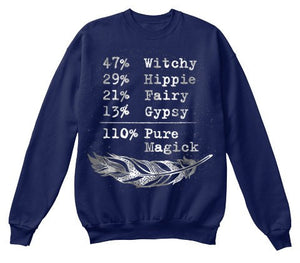 Witchy 110% Pure Magick long sleeve