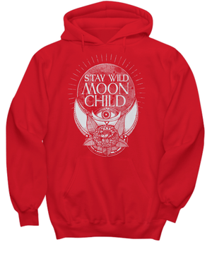 Stay wild moon child Hoodie - Spirit Nest