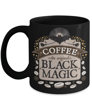 Coffee the original black magic