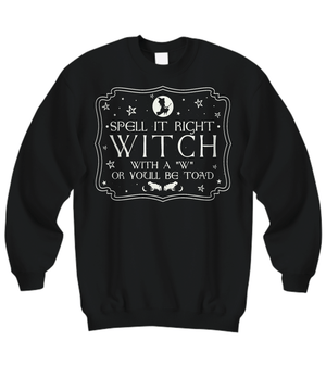 Spell it right long sleeve