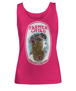 Flower child - Tank top - Spirit Nest
