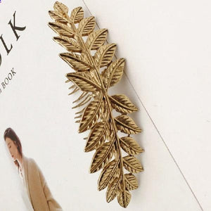 Vintage Style Leaf Branch Hair Comb