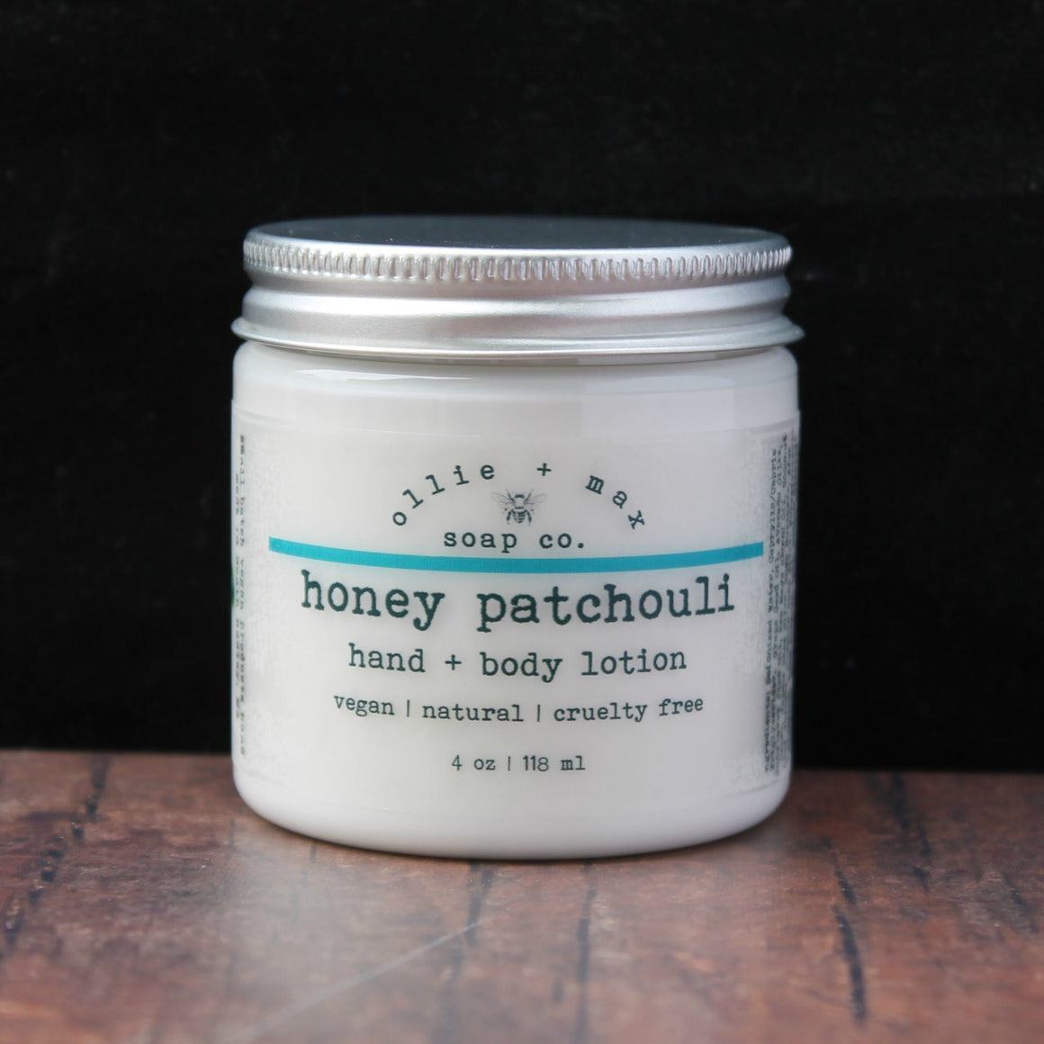 Honey Patchouli Vegan Body Lotion
