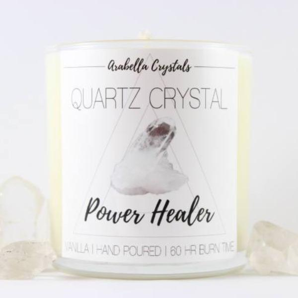 Quartz Crystal Candle - 9oz