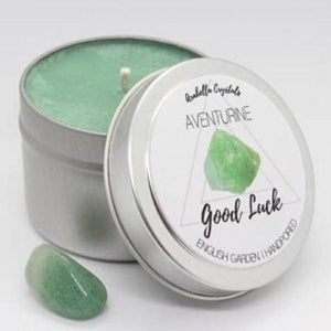 Aventurine Crystal Candle - 4oz