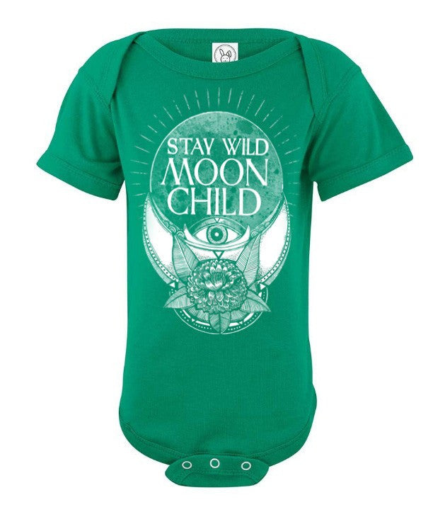 Stay wild moon child - Baby onesie