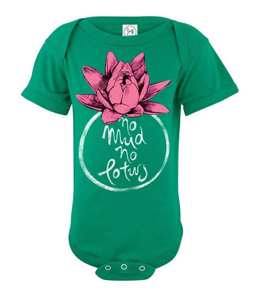 No mud no lotus - Baby onesie